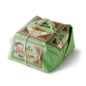 Augusta Panettone Pistacchio Hand Wrapped