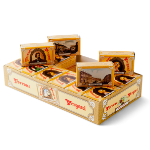 Vergani Assorted Matchbox Almond Nougat