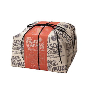 Tommaso Muzzi Panettone Orange Cream & Chocolate Chip (Hand Wrapped)