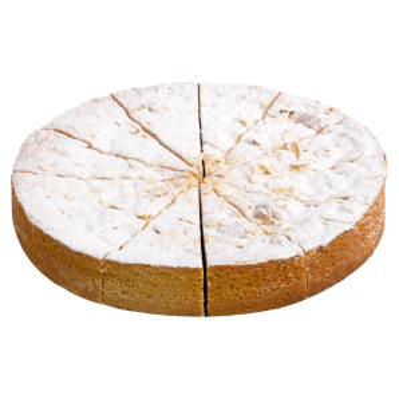Dolce Tuscia Gluten Free Apple & Frangipane Cake (Pre Cut)