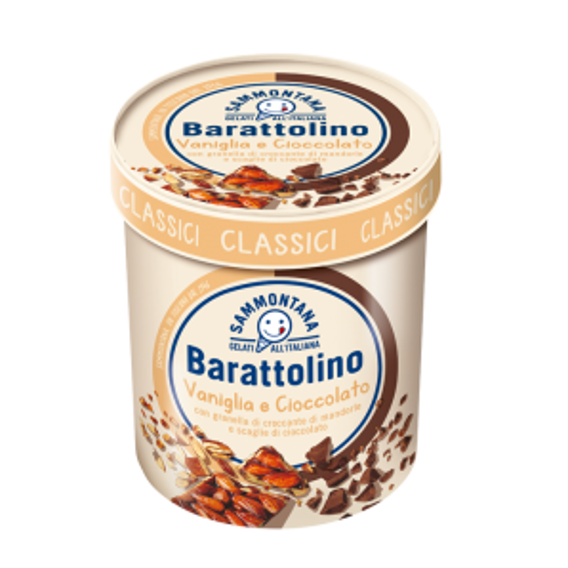 Sammontana Barattolino Vanilla & Chocolate Icecream