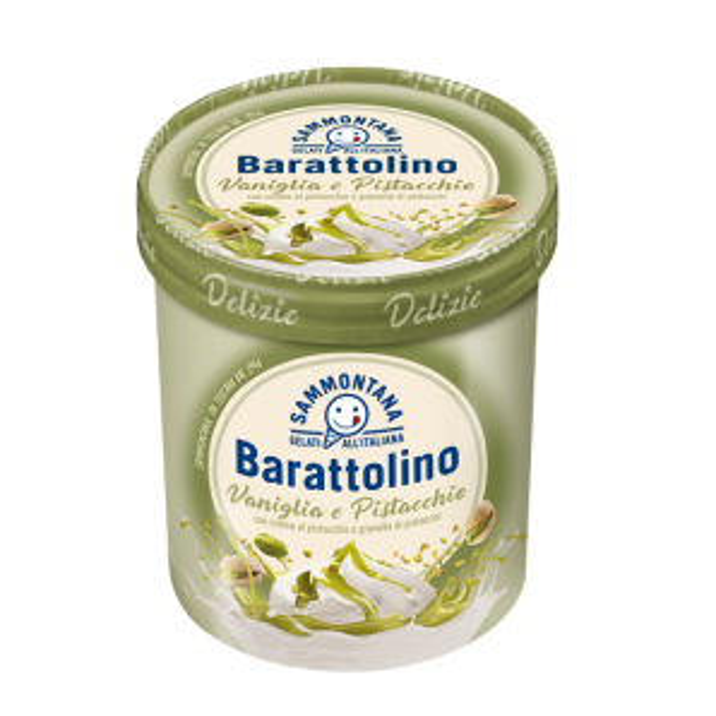 Barattolino Gourmet Vanilla & Pistachio Gelato