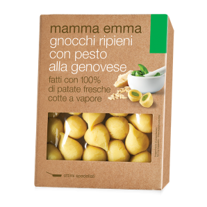 Mamma Emma Fresh Basil Pesto Filled Gnocchi