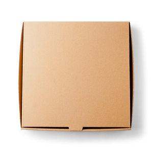 "12"" Brown Pizza Boxes X100"