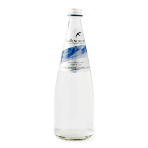 San Benedetto Sparkling Mineral Water Glass