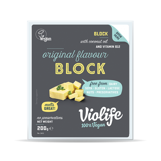 Vegan Cheese Block