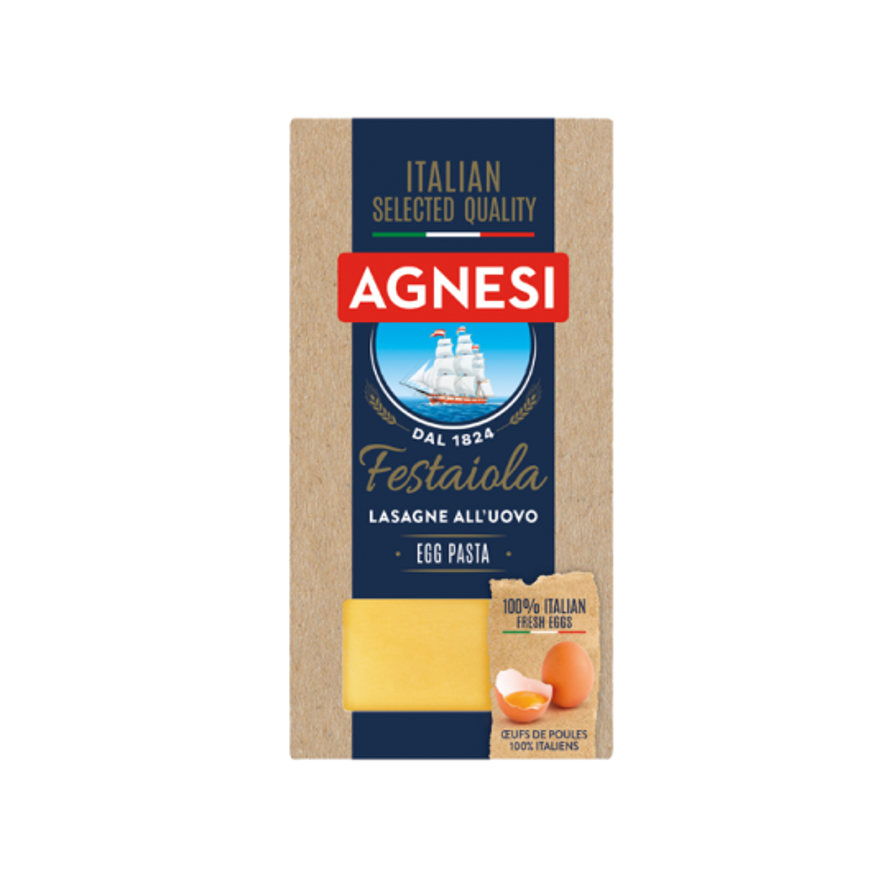 Agnesi Festiola Egg Lasagne