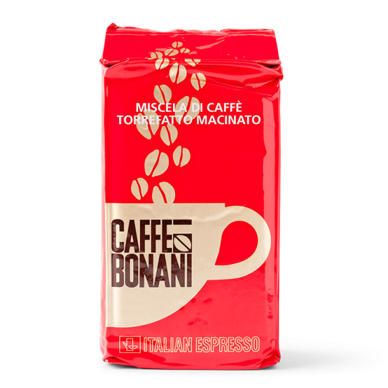 Bonani Ground Coffee Rosso