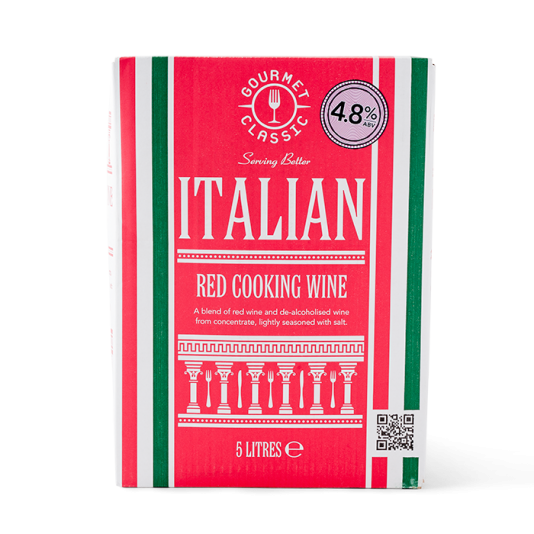 Gourmet Classic Italian Cooking Wine - Red