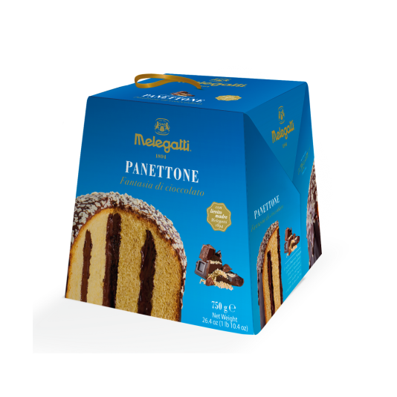 Melegatti Panettone Fantasia di Cioccolato