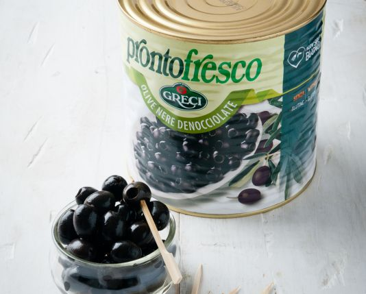 Greci Black Pitted Olives